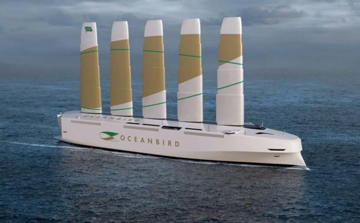 เรือโอเชี่ยนเบิร์ด เรือยักษ์พลังลมใหญ่ที่สุดในโลกประโยชน์ในโลกธุรกิจการเดินเรือ