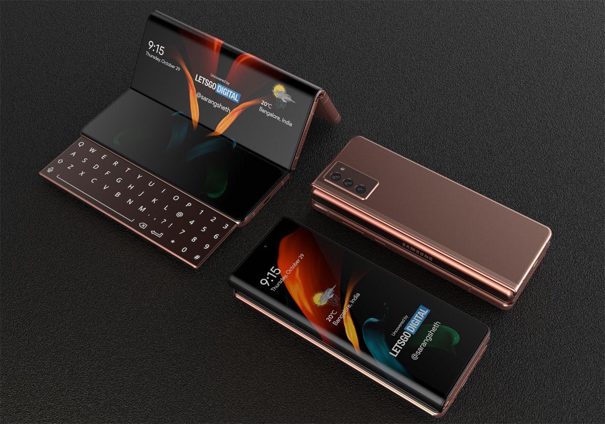 """""""Galaxy Z Fold 3"""" สมาร์ทโฟนจอพับรุ่นล่าสุดจาก Samsung"""