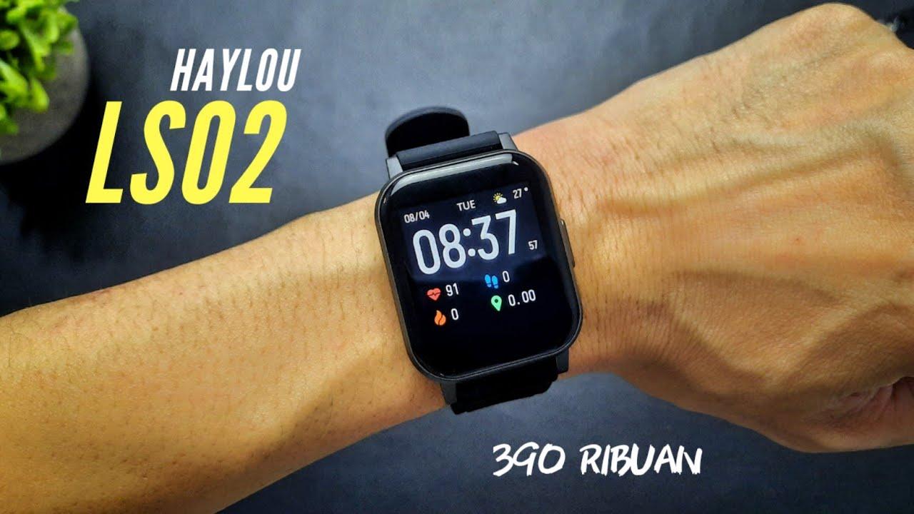 """ดีไซน์เรียบง่ายฟังชั่นสุดล้ำ Smart Watch จากทาง Xiaomi รุ่น """"Haylou LS02"""""""
